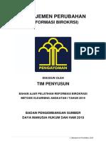Bahan Ajar Manajemen Perubahan (Tim Penyusun 2019)