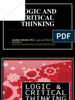 3.Logic and Critical Thinking