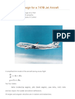 Yaw Damper Design for a 747 Jet Aircraft - MATLAB & Simulink Example