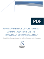 Abadonment of obsolete wells