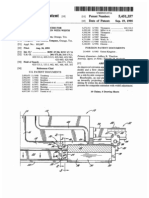Apparatus and process for composite extrusion with width adjustment (US patent 5451357)