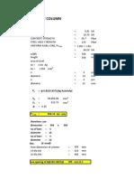Analysis of Column