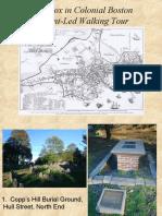 Smallpox in Colonial Boston Field Trip Sites