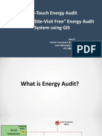 Building a Site Visit Free Energy Audit System Using GIS
