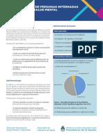 Informe Ejecutivo Censo Salud Mental
