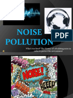 Noise Pollution Study Material