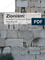 Zionism a Jewish Communal Response