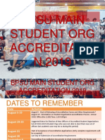 Accreditation Process Student Orgs 2019