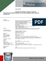 Alpha Sanocryl Tfs719 0