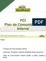 Ejemplo Plan de Comunicación Interna