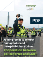 Joining forces to combat homophobic and transphobic hate crime