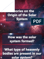 Theories on the Origin of the Solar System.1560463373631