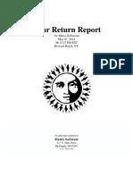 SOLAR RETURN  REPORT