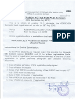 PhD Desk Regtration Notice 25719