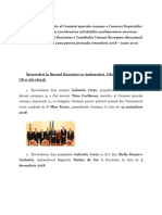 Raport Comisia Speciala Comuna 2019
