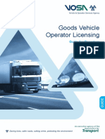 Vosa Operator Licensing Guide