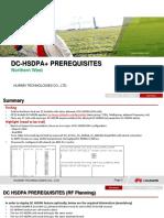 DC HSDPA Prerequisites