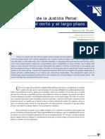 Alberto Martin Binder - La Reforma de La Justicia Penal