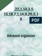 PPT Advance Organizer
