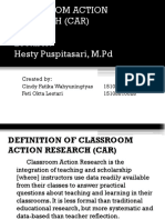 Classroom Action Research (Car)