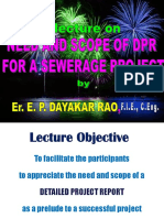 Need for DPR and Its Scope