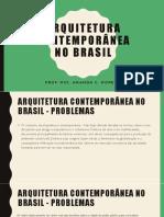 Arq Contemporânea No Brasil