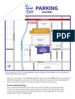 2019 Kids Fair Parking Map