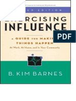 Exercising Influence - A Guide for Making Things Happen