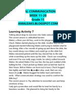 [Amaleaks.blogspot.com] Oral Communication Grade 11 Week 11-20 (1)