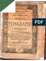Manual do Typografo