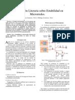 Estabilidad en Micro-redes