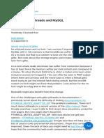 Lock Elision Pthreads and MySQL