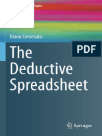 The Deductive Spreadsheet