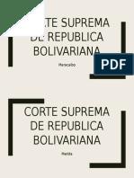 Corte Suprema de República Bolivariana