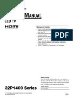 Service manual tv