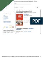Introducción a La Psicología Camunitaria Catalogo en Linea