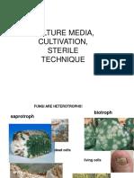 101Culture Media, Cultivation, Sterile Technique