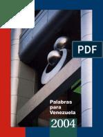 Palabras Para Venezuela 2004 e