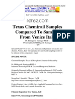 Chemtrail Samples Texas & Moregllon's Samples Collected