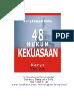 Rangkuman Buku 48 Hukum Kekuasaan.pdf