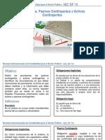 NICSP 19 PROVISIONES, PASIVOS CONT. ACT. CONT.pptx