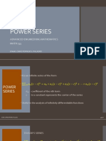 13 Differentiation and Integration of Power Series pdf