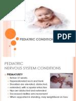 Pediatric Conditions