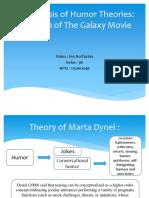 An Analysis of Humor Theories