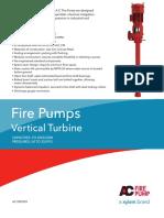 Xylem Vertiical Turbine Fire Pumps