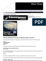 Weather Modification Advisory and Research Board - Bill S517