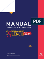 Manual Revista Teen-quebrando Silêncio
