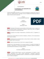 Lei orgânica de Guaramirim