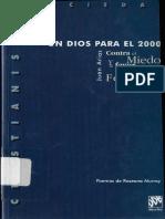 Arias J. Un Dios Para El 2000. Descleé de Brouwer. Bilbao. 1998.