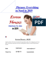 Korean Phrases